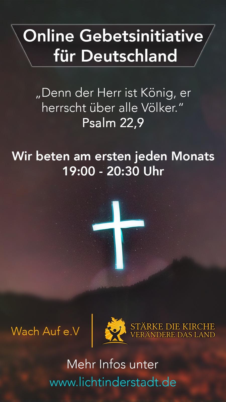Online Gebetsinitiative für Deutschland